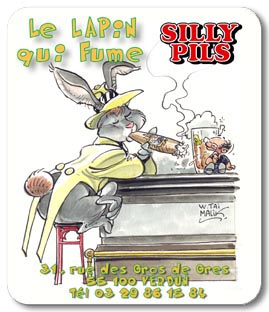 Le Lapin qui Fume 3 Silly Pils (Malik)